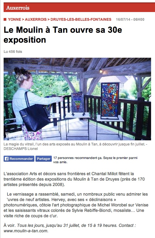article Yonne Républicaine